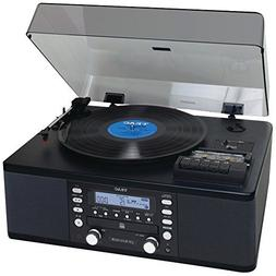 1 - USB Turntable Audio System, Allows easy recording of rec