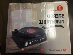 1 By One 3 Speed Stereo Turntable MD-920 Phono/USB/MP3 Belt