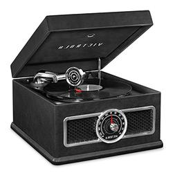 Victrola 5-in-1 Nostalgic Bluetooth Record Player with CD, R