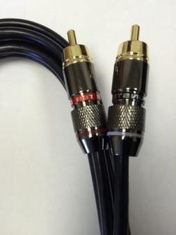 technics 1200 turntable Monster RCA cable W/ Ground Wire Upg