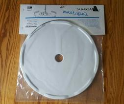 "18"" White Outdoor Ackralac Rotating Turntable Lazy Susan for"