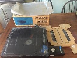 1991  SONY PS-LX520 Stereo Linear Turntable Record Player in