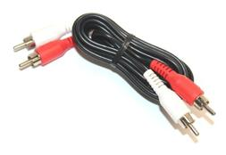 2-RCA Audio Cable for Home Theater HDTV Game Console Hi-Fi S