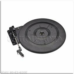 28CM Vintage Vinyl LP Record Player Turntable for Audio Vide