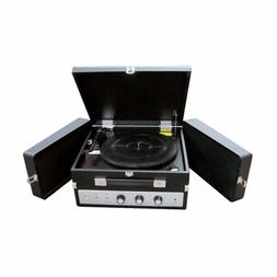 Pyle 3 Speed Stereo Turntable Fold-Out Speakers AUX-IN USB V