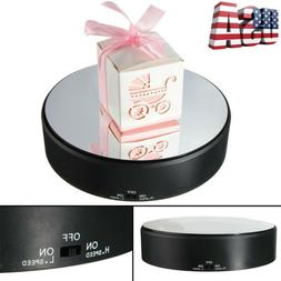 360° Rotating Turntable Display Stand Exhibition Battery Po