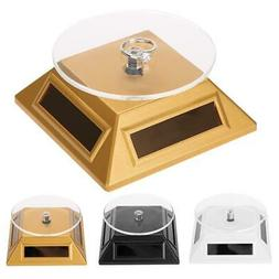 360 Solar Showcase Turntable Rotating Jewelries Watches Orga