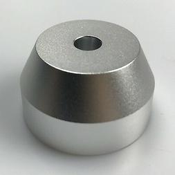 45 RPM Adapter Solid Aluminum - Perfect Fit for most Vinyl R