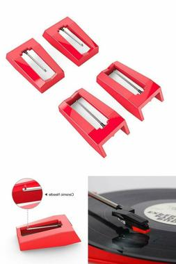 4Pcs Diamond Record Player Needle Turntable Stylus For Vin