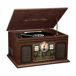 Victrola 6-in-1 Nostalgic Wireless 3-Speed Turntable - Espre