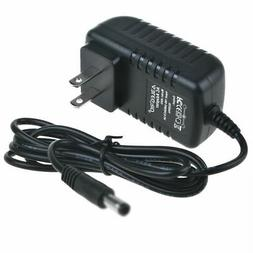 9V AC/DC Adapter Charger for Crosley CR8005A-BK Turntable Sw