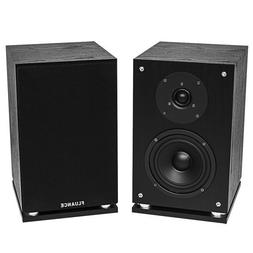 Fluance SX6-BK High Definition Two-way Bookshelf Loudspeaker