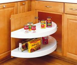 "Rev-A-Shelf 6882-39-11-570 39"" Half Moon 2-Shelf Pivot & Sli"