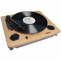 ION Audio Archive LP record player USB terminal speaker buil