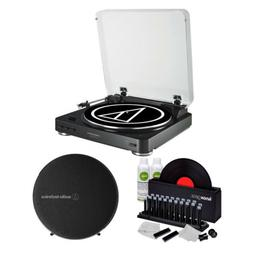 Audio Technica AT-LP60BK-BT Wireless Turntable and Speaker S