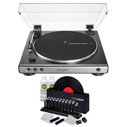 Audio-Technica AT-LP60X USB Turntable  with Knox Vinyl Clean