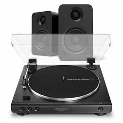 AudioTechnica AT-LP60XUSB Belt-Driven Turntable and Kanto YU