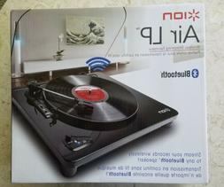 ION Audio Air LP Wireless Bluetooth Streaming Turntable Reco