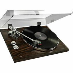 ION Audio Walnut  PRO500BT 2-Speed Belt-Drive Turntable w/ B
