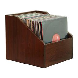 Bin-e LP STORAGE Java Cherry  / Storage for your Vinyl Recor