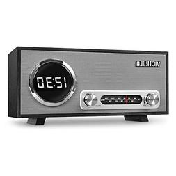 Victrola Bluetooth Digital Clock Stereo with FM Radio and US