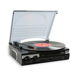 Brand New Jensen JTA-230 3 Speed Stereo Turntable with Built