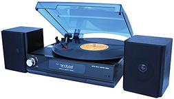 boytone BT-14TBB-SP Full Size 3 Speed Stereo Turntable with