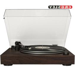 Crosley C8 2-Speed Belt-Driven Turntable with Built-in Switc