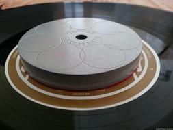 Carbon Steel Record turntable stabilizer .. Approx 360 grams
