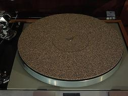 NEW Cork / Rubber Turntable Record Player Mat