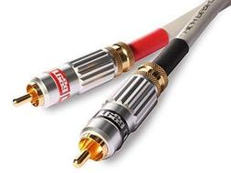 couple 2 rca analog interconnect