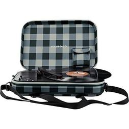 Crosley CR8016A-GC Messenger Shoulder Bag Turntable Record P