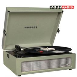 Crosley CR8017A-SA Voyager Vintage Portable Turntable with B