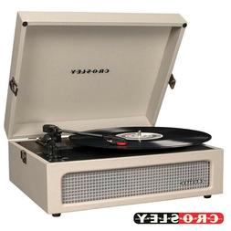 Crosley CR8017A-DU Voyager Vintage Portable Turntable with B