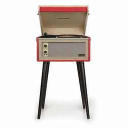 Crosley CR6233D-RE Dansette Bermuda Portable Turntable with