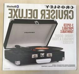 Crosley Cruiser Deluxe portable turntable CR8005D-BC