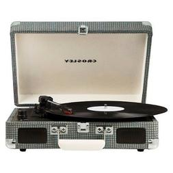 Crosley Cruiser 3-Speed Portable Turntable-Gray Tweed