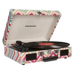 Crosley Cruiser Portable Turntable W/Built in Speakers - Str