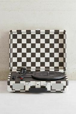 Crosley Cruiser Turntable Checkerboard Vinyl Portable Record
