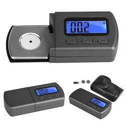 Digital LED Cartridge Scale Gauge 0.01g Tracking Force Turnt