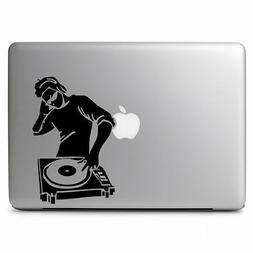 DJ Music Turntable Controller Decal Sticker for Macbook Lapt