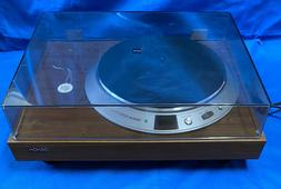 DENON DP-2000 DP-2550 Turntable Mint with BOX and Manual NOS