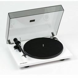 Pro-Ject Essential III White Audiophile Turntable