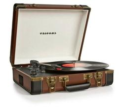 Crosley Executive USB Portable Turntable CR6019A-BR New in t