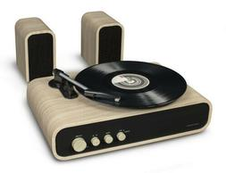 Crosley Gig Retro Belt-Drive Turntable with Aux-in and Speak