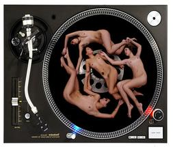 GIRLS GIRLS GIRLS - DJ SLIPMAT 1200's or any turntable, reco