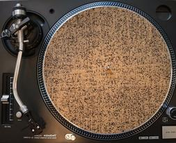High Quality 3mm Thick Cork Rubber Turntable Slip Mat New!