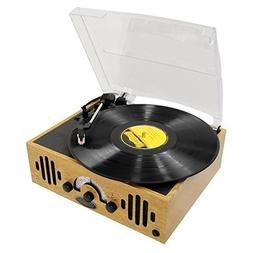 Upgraded Version Vintage Record Player - Classic Vinyl Playe