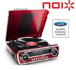 ion it69 mustang lp 4in1 turntable entertainment
