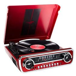 ION Record Player Turn Table 1965 Classic Car-Styled Ford Ma